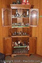 Corner Curio Cabinet B