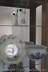 Hat Pin And Bowl. A