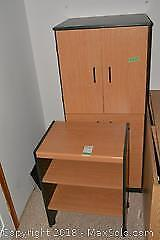 Cupboard And Printer Stand. C
