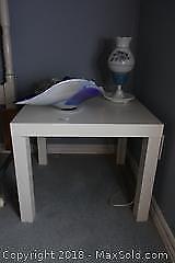 End Table And Lamp B