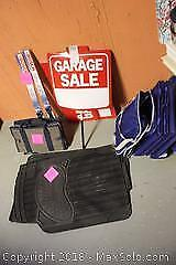Signs, Car Mats And Storage Bags. B