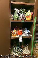 Pottery and Ceramic Fruit Decor and More A