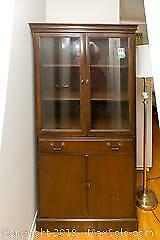 Vintage China Cabinet A