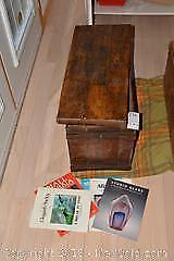Vintage Box And Stained Glass Books. B