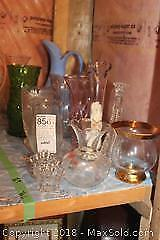 Crystal and Glass Vases B