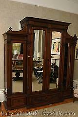 Antique Wooden Armoire B