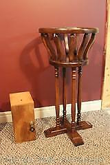 Plant Stand And Dovetailed Box. B