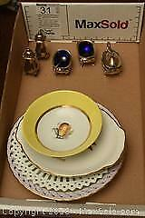 Silver-plate And Fine China - A