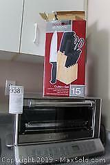 Convention Oven And Knife Set A