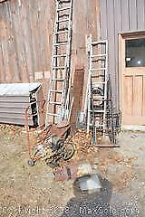 Water Pump Rakes Dolly And More. C