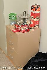 Hardware And File Cabinet. C