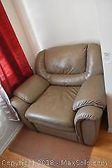 Leather Chair. B