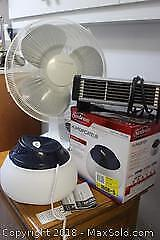 Fan, Heater And Humidifier. C