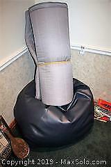 Bean Bag Chair and Pad A