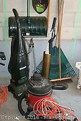 Garden Tools, Snow Shovel, Shop Vac and More