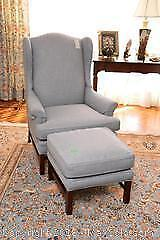 Chair And Ottoman- C