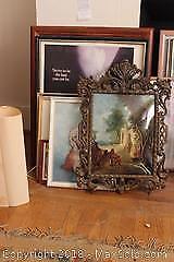 Framed Art. A