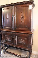 Krug Furniture Raised Cabinet. C
