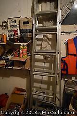 Aluminum Ladder. A