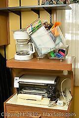 Small Appliances and Kitchen Linens. A