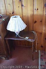 Lamp And Table B