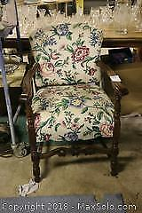 Open Arm Chair. C