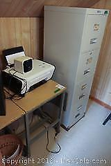 File Cabinet And Stenographer Table C