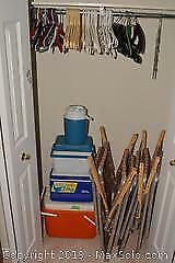 Lawn Chairs, Coolers And Hangers B