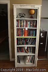 Bookcase with Books. A