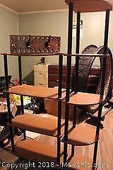 Shelf Units And Hooks. B