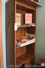 Canadiana Collectibles, Shelf Unit. A