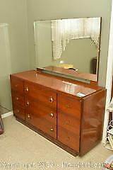 Dresser and Mirror. C