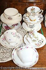 Teacups and Saucers A