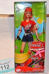 Coca-Cola SKATEBOARD BARBIE multilingual packaging from 2001, mint in the box