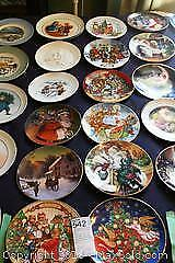 Avon Collectors Plates-A