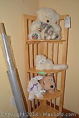 Folding Corner Cupboard With Stuffies B