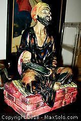 Early Royal Doulton Seated Arab MENDICANT H.N.1365 Figurine