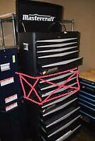 Like New Mastercraft 10 Drawer Tool Box (Chest/Cabinet)