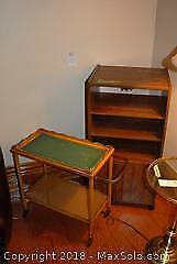Cabinet And Trolley- B