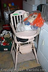 High Chair and Doll B