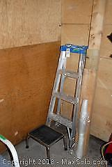 48 Inch Ladder And Step Stool A
