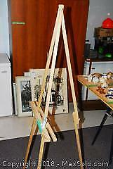 Wooden Easel A