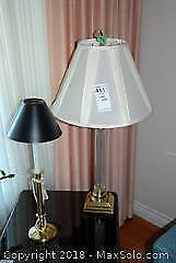 Lamp and Candlestick Holder A