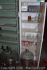 Vintage Juicer And Glass Ware A