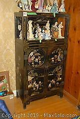Two Piece Chinese Cabinet F