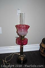 Vintage Style Lamp - A