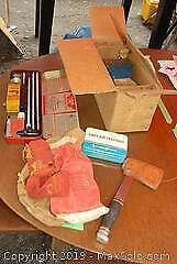 Vise, Axe, Rifle Cleaning Kit And More B