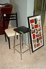 Chair, Stool, Picture Frame - B