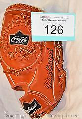 Coca-Cola promotional leather adult BASEBALL glove.