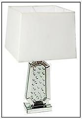 Lighting Interiors & More 192 40-140 Mirror and Crystal Table Lamp
